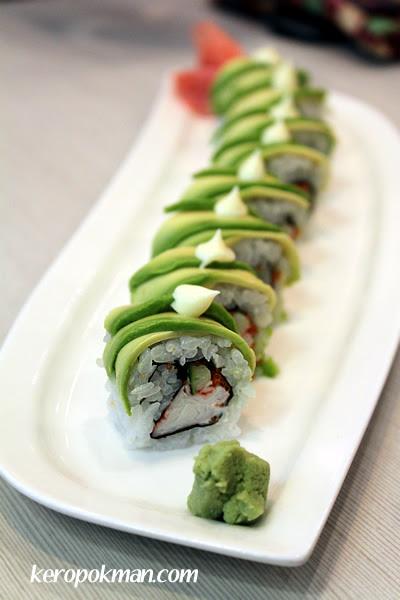 Catepillar Sushi