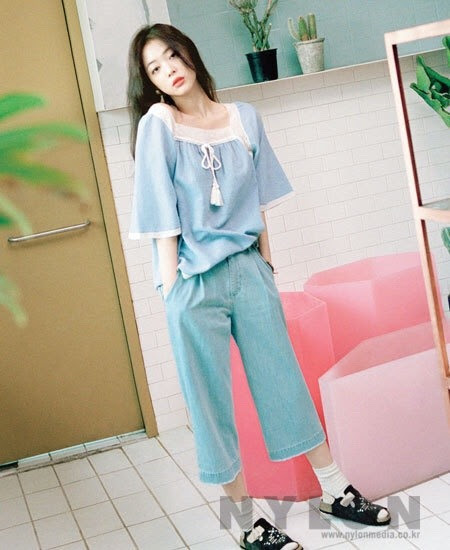 Sulli for Nylon Korea May 2016. Photographed by Hwang Hye Jeong