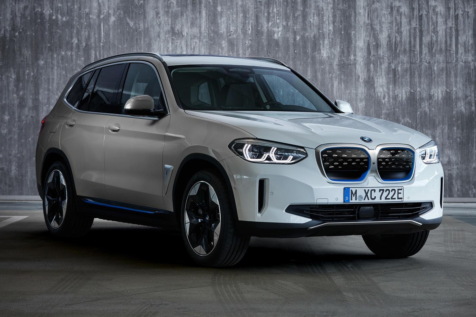 2021 bmw ix3 unveiled with 285 miles of range  carbuzz