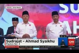 Debat Calon Gubernur Jawa Barat Ricuh. Pasangan ASYIK Tetap Santai.