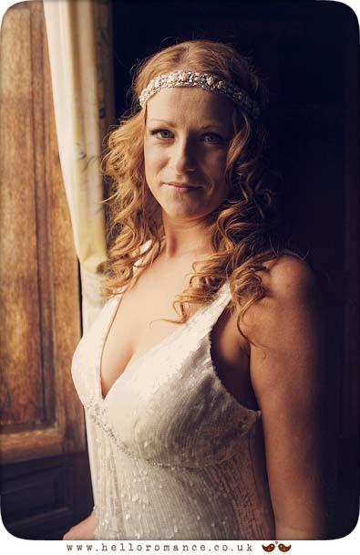 Bride Portrait in Window Light, Glemham Hall Wedding Photography Suffolk - Hello Romance