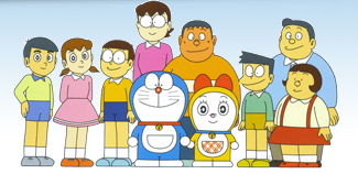 Doraemon Characters Names