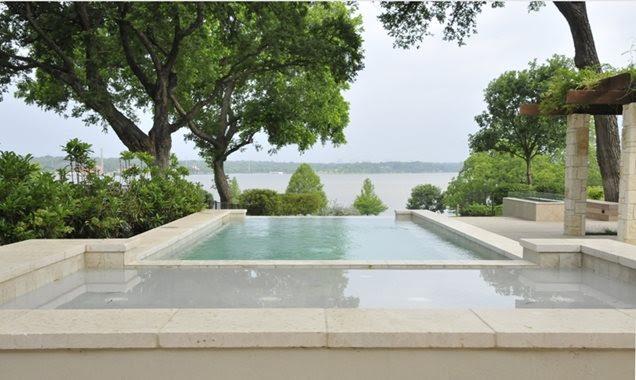 Texas Landscape Pool Ideas