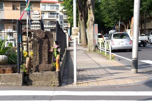 甲州街道の佐須街道入口