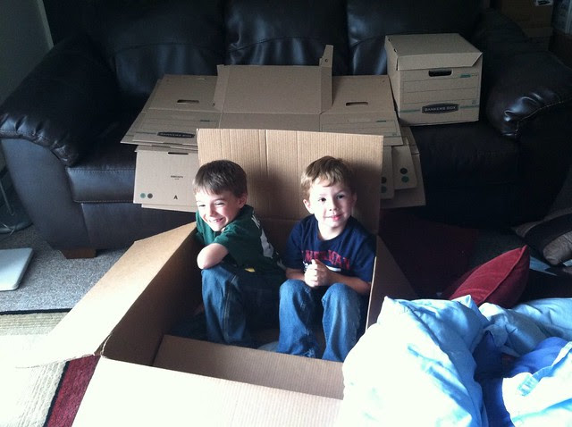 Boys in a box
