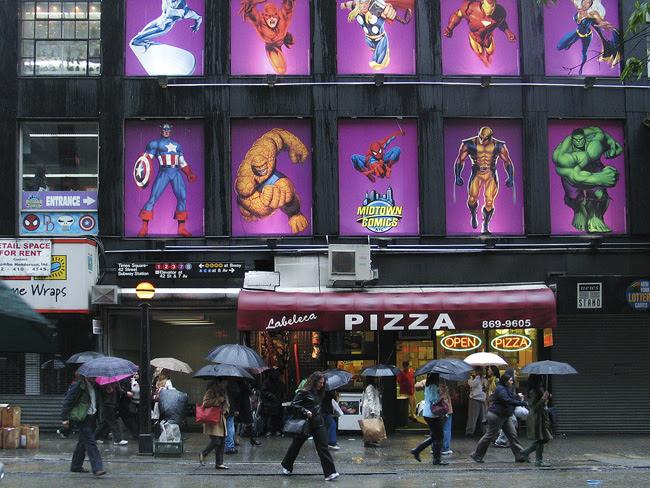 Midtown Comics, NYC
