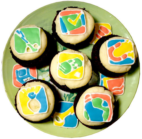 business cupcakes
