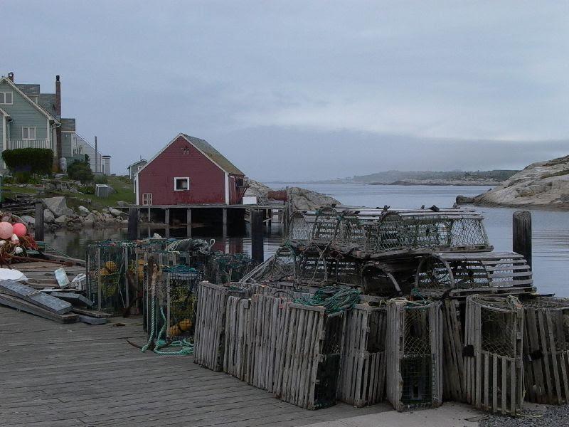 Lobster Traps at Rest