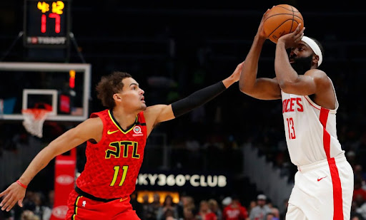 Avatar of James Harden, Trae Young both get 40-point triple-doubles in Rockets win
