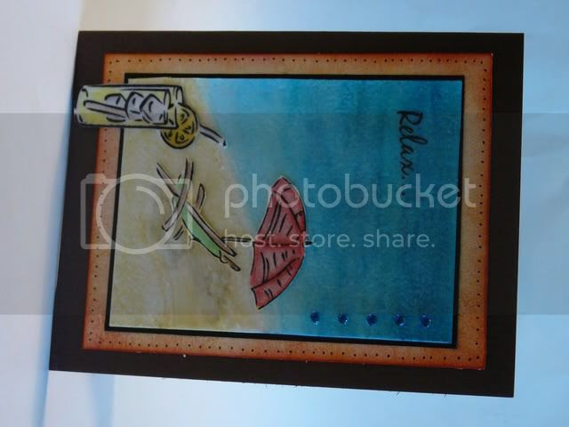 You are my sunshine - card using Gina K stamps