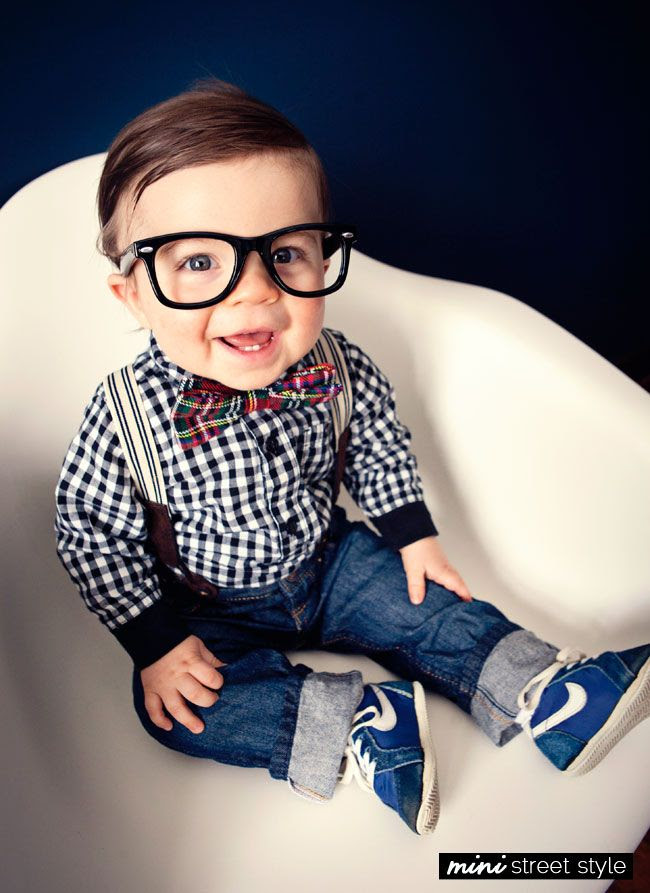 Kid Style: baby geek chic...sooooooooo adorable