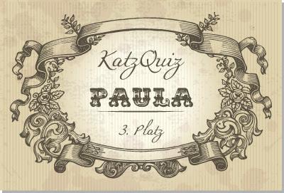 3. Platz KatzQuiz: Paula