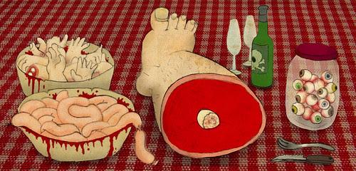 buffet de carnaza