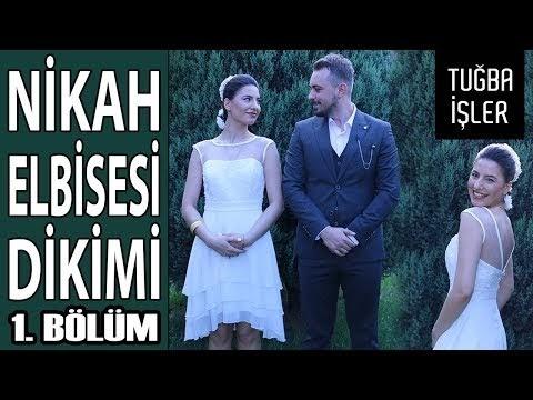 Abiye Elbise Dikimi - Nikah Elbisenizi Kendiniz Dikin Giyin (DIY Wedding Dress) | Tuğba İşler