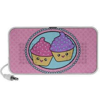Mega Kawaii BFF Cupcakes Speaker doodle