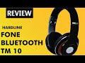 Fone de Ouvido Bluetooth Hardline TM 10 Bom e barato | Review