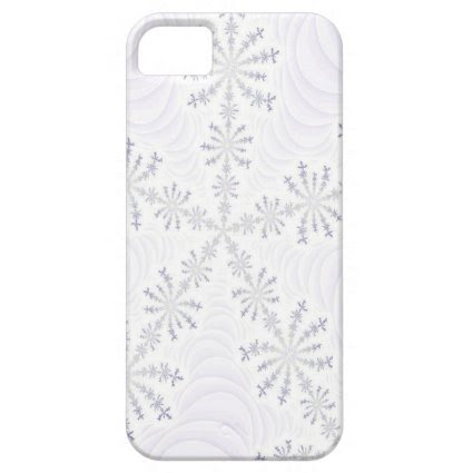 White Snowflake Fractal iPhone 5 Case