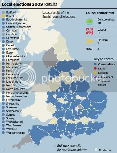 england election map