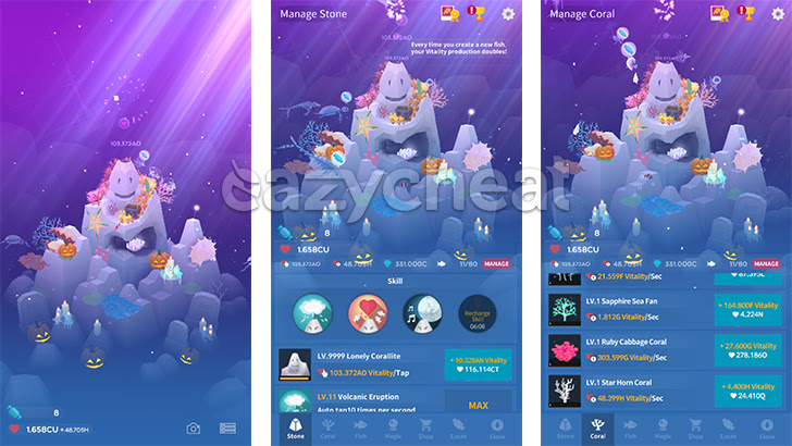 AbyssRium-Make your Aquarium v1.2.4 Cheats