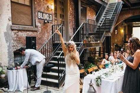 Maris & Brock Alternative Brooklyn Wedding   Jean Laurent