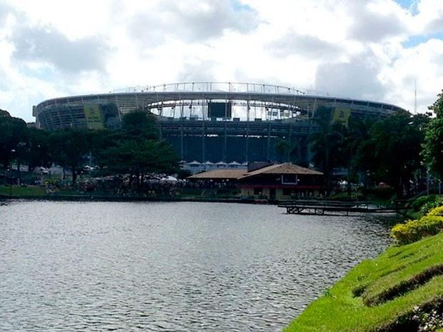 Arena Fonte Nova (Foto: Richard Souza)