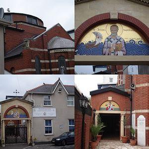 Загрузить увеличенное изображение. 640 x 640 px. Размер файла 114099 b.  The St. Nicholas Church in Cardiff, Wales.