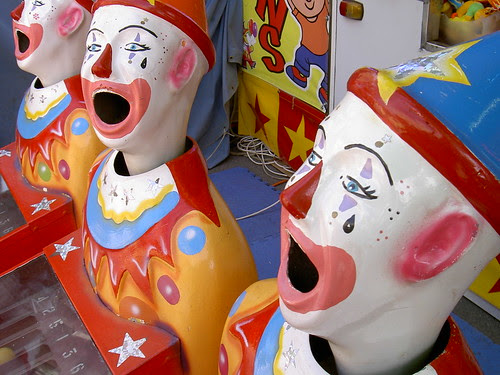 Clowns at the Canberra Show