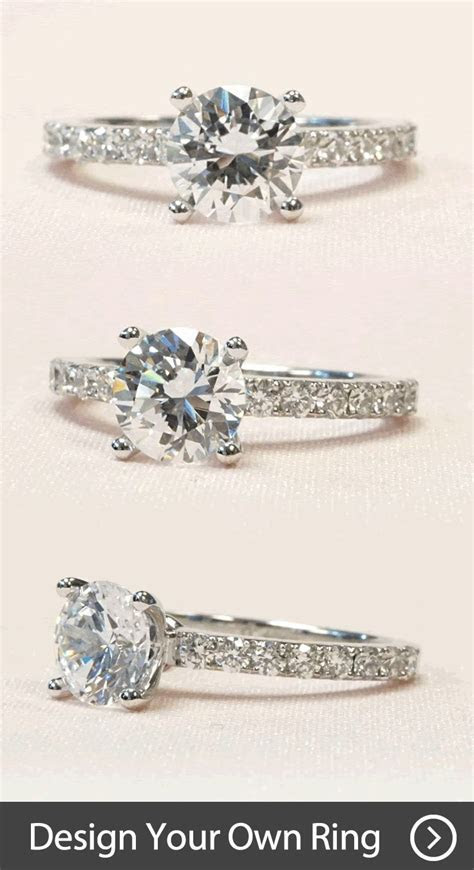 Create your own unique #engagement ring by working with