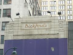 former Bickford's Cafeteria, New York
