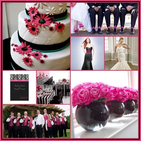 16 Best Photos of Pink And Black Centerpieces Ideas   Hot