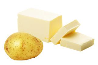 감자, 버터