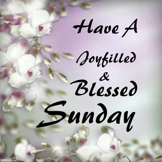 Have A Joyfilled Blessed Sunday Pictures Photos And Images For