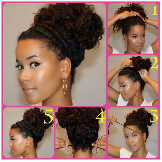 acconciatura semplice capelli ricci - 5 facili acconciature ricce fai da te per la primavera Capelli ricci