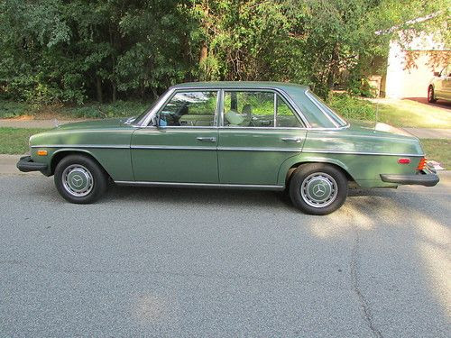 Purchase used 1976 MERCEDES BENZ 300D - VERY GOOD CONDTION ...