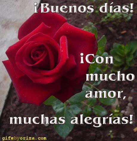 Buenos Dias Con Mucho Amor Imagenesdebuenosdias Es