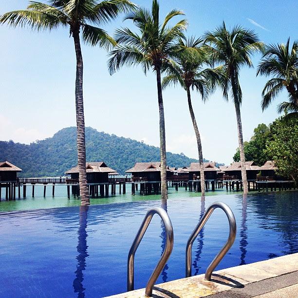 Pool side time. Books and music and #pangkorlautresort #pool #swim #pangkor #islandgetaway #island #holiday #travel #trip #travelandliving #luxury #firstclass
