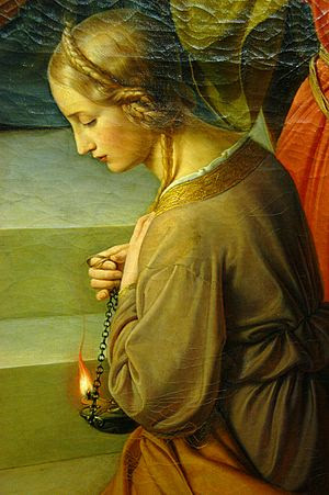 Friedrich Wilhelm Schadow: Detail from The Par...