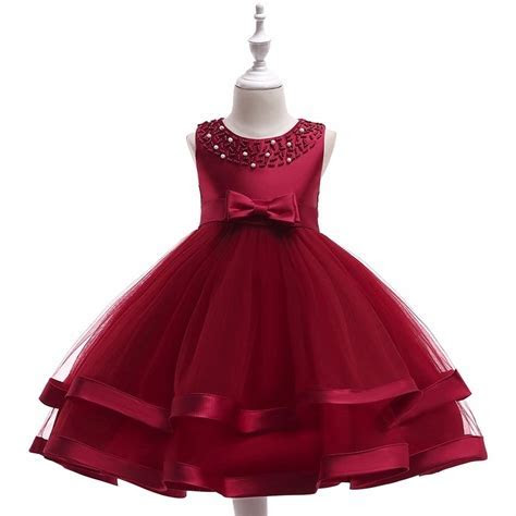 Baby Frock Design Latest Fashion Party Frock Beautiful Red