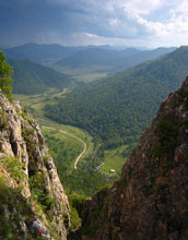 Photo of southern Siberia's Altai Mountains.
