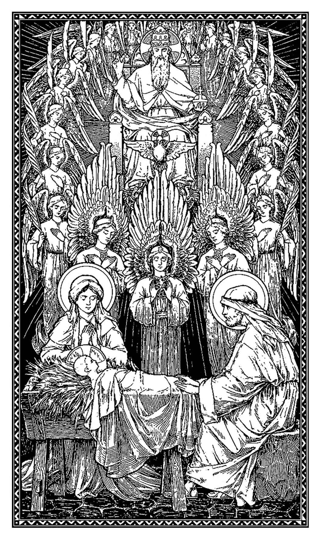 Image result for nativity of our lord jesus christ latin mass