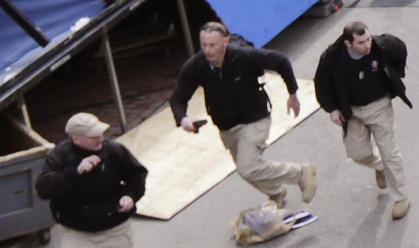 More Photos Show Private Military Security Running Drills at Boston Marathon The Craft Three Guys 600