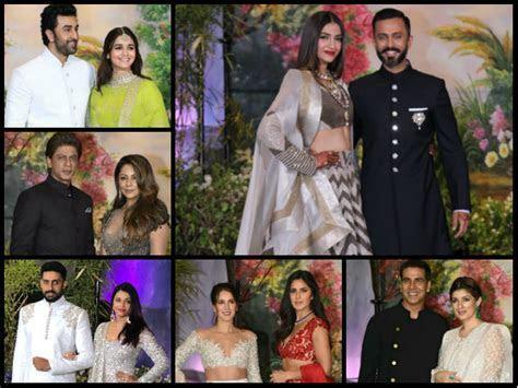 Sonam Kapoor Reception, Aishwarya Rai Shahrukh Ranbir