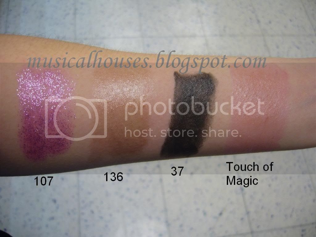 Barry M Lip Paints Swatches