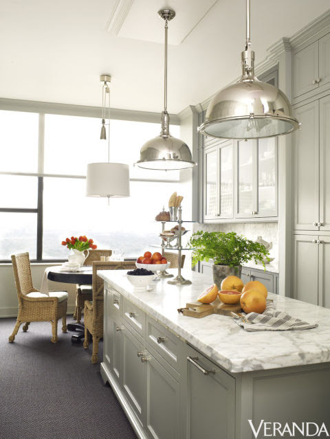 Nickel pendants, Restoration Hardware.