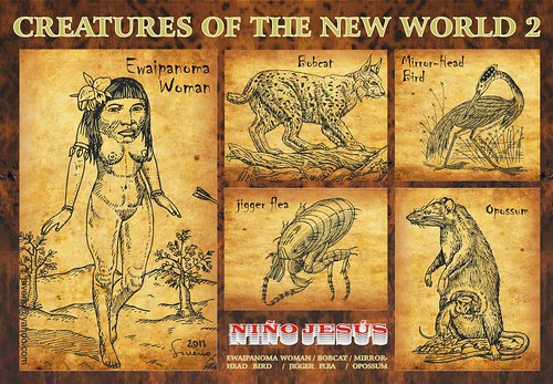 Creatures of the New World 2 (Criaturas del Nuevo Mundo 2) by Niño Jesús
