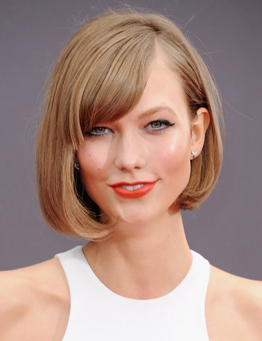 Bob Hairstyles for 2014: Cute Short Blonde Bob Haircut for Thick Hair