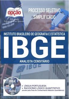 Processo Seletivo Simplificado IBGE 2017-ANALISTA CENSITÁRIO (COMUM A TODOS OS CARGOS)-ANALISTA CENSITÁRIO (AC) - GESTÃO E INFRAESTRUTURA-AGENTE CENSITÁRIO REGIONAL (ACR)-AGENTE CENSITÁRIO ADMINISTRATIVO (ACA)