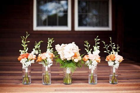 Wedding Color Inspiration : Peach and Navy   Rustic