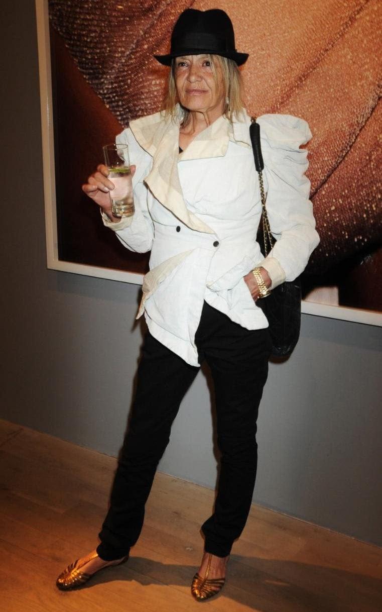 Anita Pallenberg in 2010