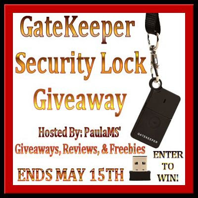 Tired of constantly locking & unlocking your computer? Enter to #WIN a GateKeeper #SecurityLock Ends 5/15